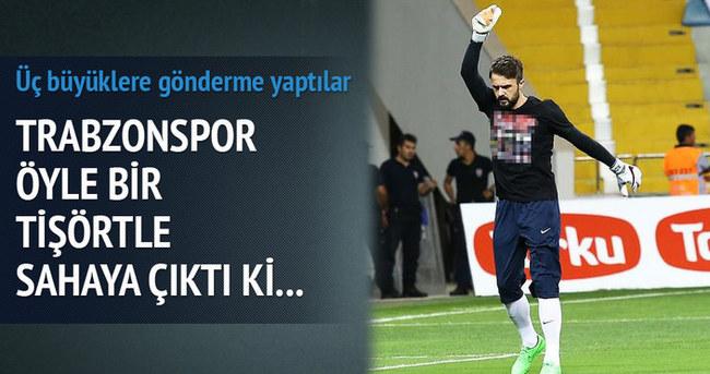 Trabzonspor'dan üç büyüklere gönderme