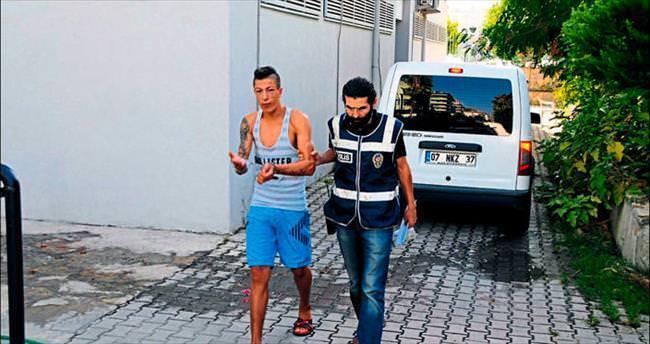 Turisti gasp eden zanlı yakalandı