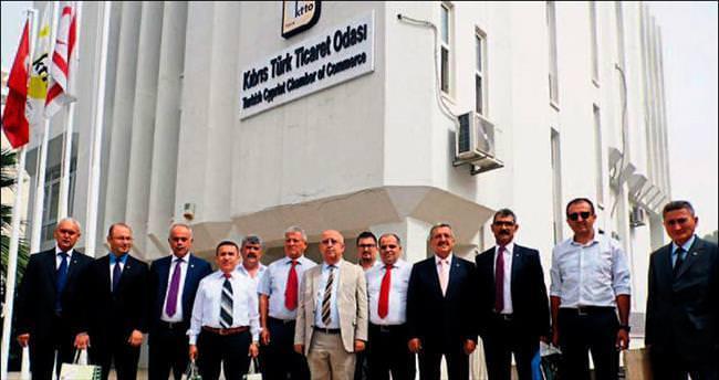 KKTC ve Anamur arasında 'kardeş oda' protokolü