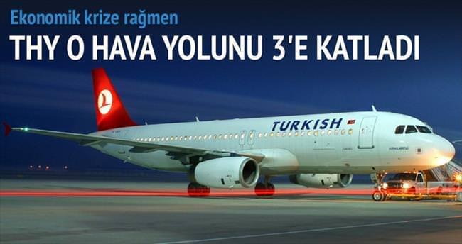 THY Lufthansa'yı 3'e katladı