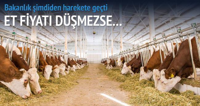 Et fiyatı düşmezse müdahale edecek