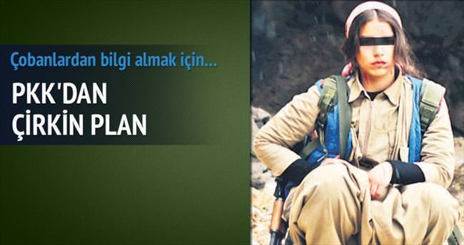 PKK'dan şantajlı istihbarat tuzağı