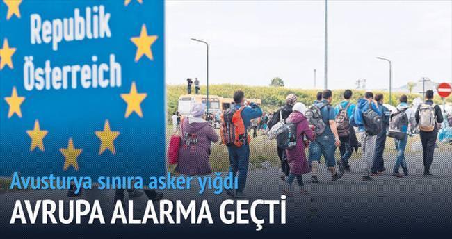 Avrupa, Schengen'i geçici askıya aldı