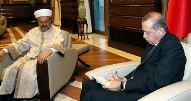 Erdoğan kurban vekaletini verdi