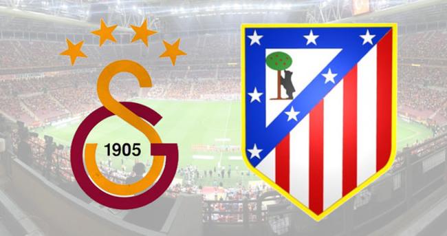 Galatasaray-Atletico Madrid maçı saat kaçta hangi kanalda?