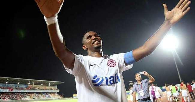 Eto'o'dan 4 maçta 5 gol