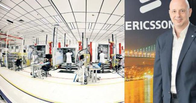 Ericsson Türkiye'de 4.5G fabrikası kuruyor