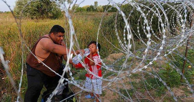 Macaristan sınırda kriz bölgesi ilan etti