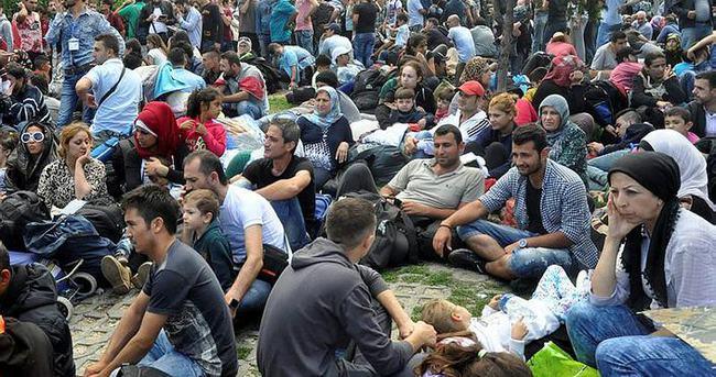 İstanbul Otogarına mülteci akını