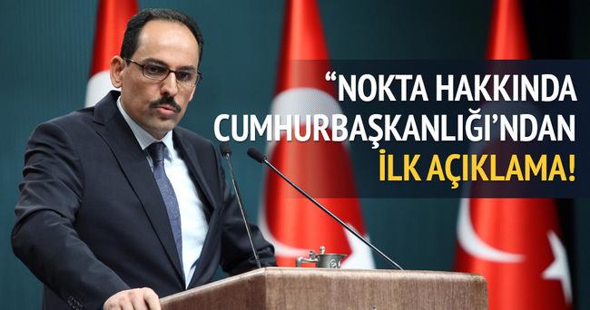Cumhurbaşkanlığı Sözcüsü gündeme ilişkin açıklamalar yaptı