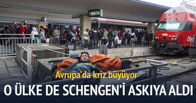 Avusturya'da Schengen'i askıya aldı