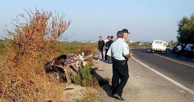 Kuşadası'nda trafik kazası 1 ölü