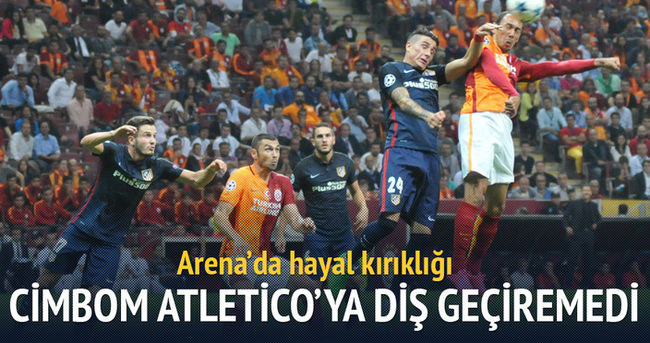 Galatasaray Atletico'ya diş geçiremedi