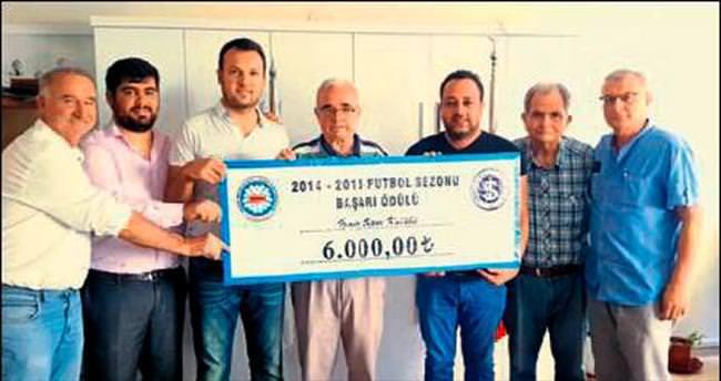 İzmirspor'a anlamlı ödül