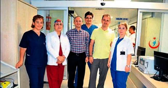 Devlet hastanesine son sistem cihazlar