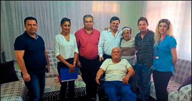 Büyükşehir'den engelliye destek