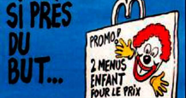 Charlie Hebdo'dan provokatif karikatür