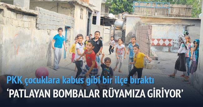 Cizreli çocuklar 'Bombasız sokak' istiyor