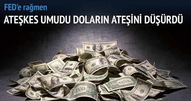 Dolarda ateşkes umudu