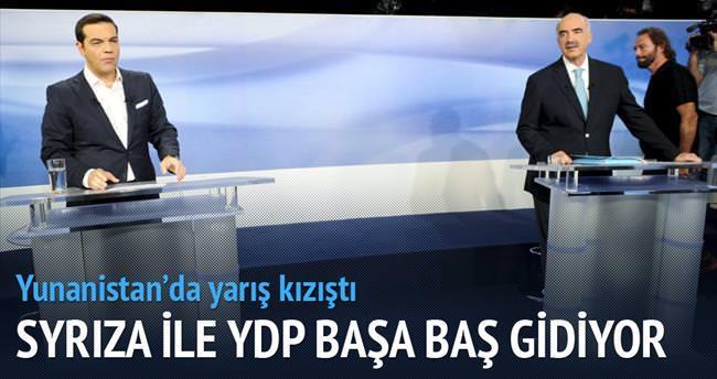 SYRIZA ile YDP başa baş gidiyor