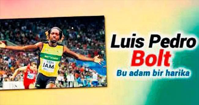Cavanda değil Bolt!