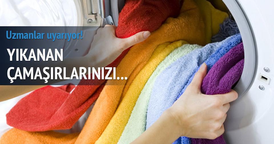 Çamaşırlarınızı ev içinde kurutmayın!