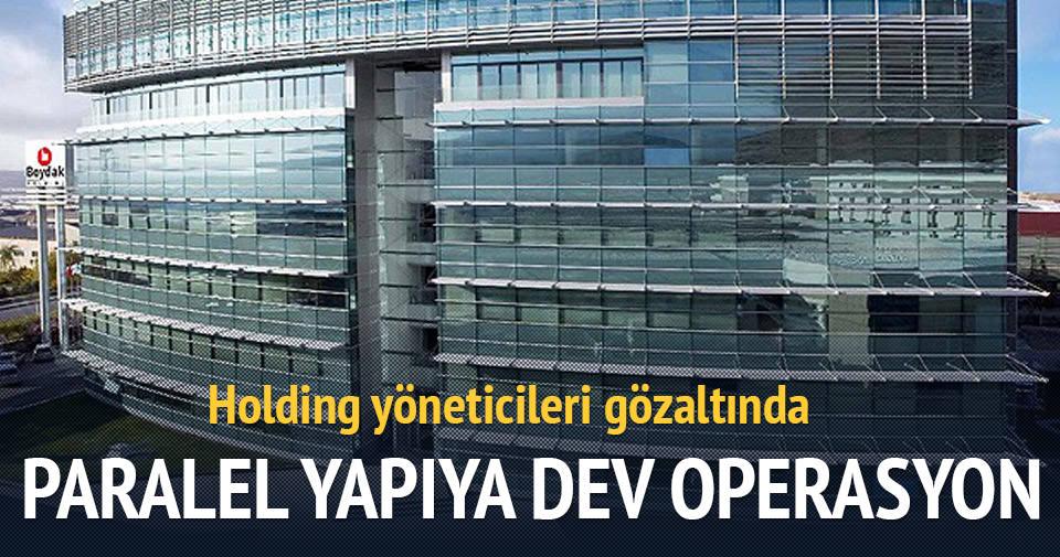Kayseri'de Melikşah Üniversitesi'ne operasyon
