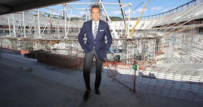 Fikret Orman'dan flaş Vodafone Arena açıklaması