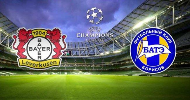 Bayer Leverkusen - BATE Borisov maçı saat kaçta hangi kanalda?