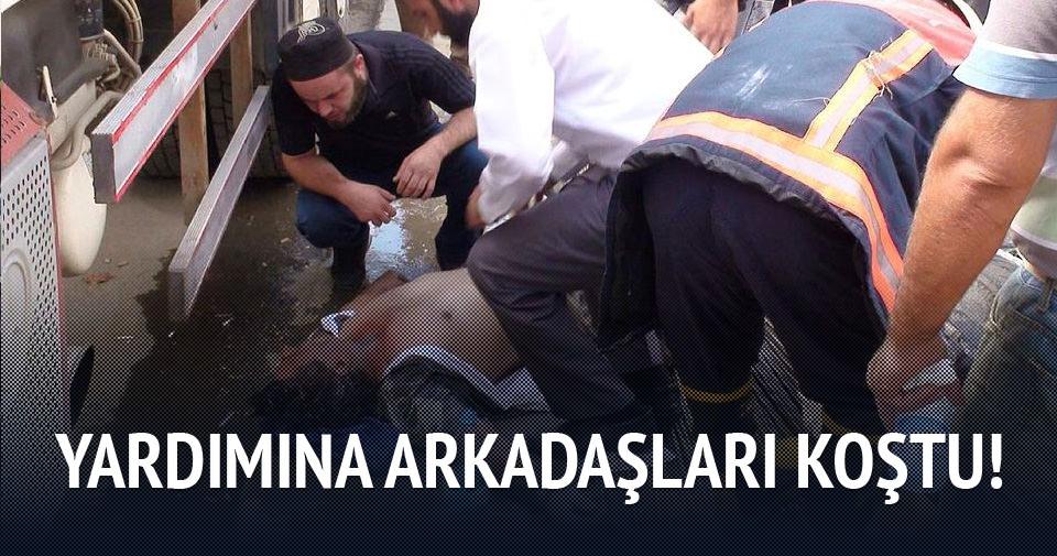 Çekmeköy'de inşaatta çökme: 3 yaralı