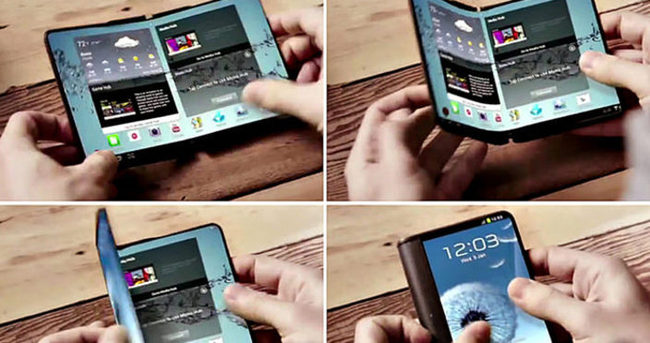 İşte Samsung'un beklenen telefonu