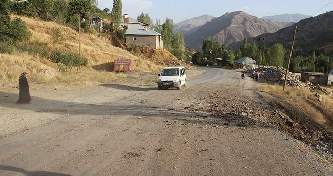 Askeri araç geçişinde bomba infilak ettirildi!
