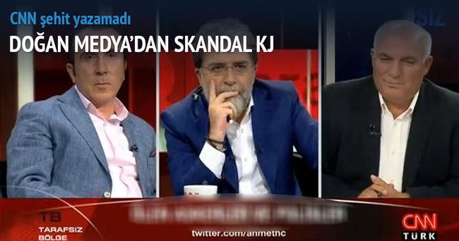 CNN Türk'te şehitler için skandal KJ