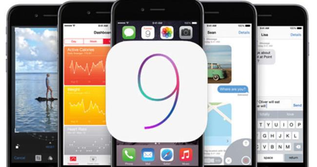 iOS 9 yayınlandı