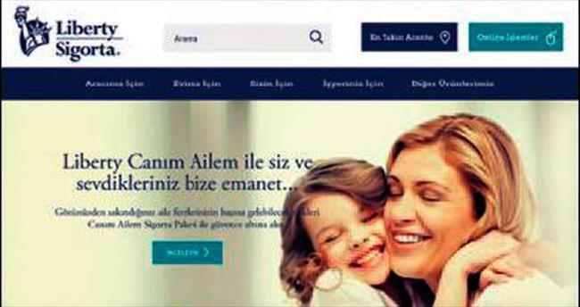Liberty Sigorta'nın yeni internet sitesi yayında