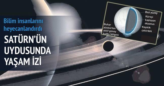 Satürn'ün uydusunda yaşam izi