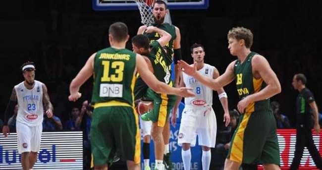 Litvanya son yarı finalist oldu