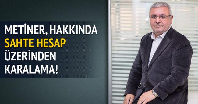 Sosyal medyada Mehmet Metiner'i karalama operasyonu!