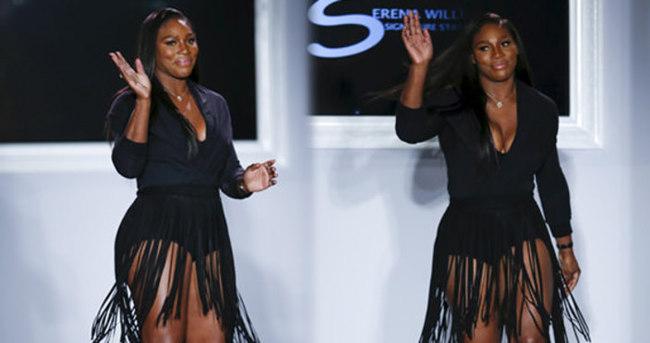 Serena Williams podyuma çıktı