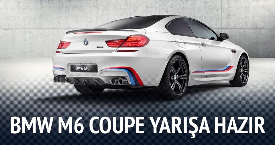 BMW M6 Coupe yarışa hazır