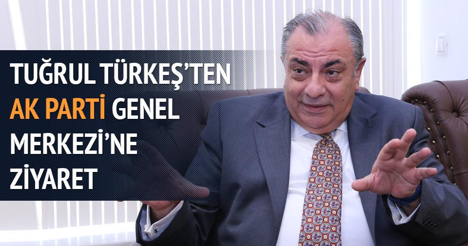 Tuğrul Türkeş'ten AK Parti'ye ziyaret