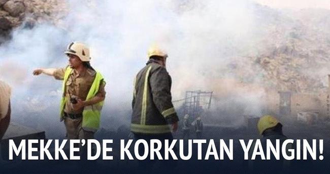Mekke'de büyük yangın!