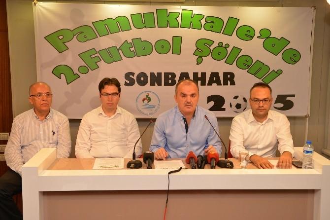 Pamukkale'de Sonbahar Futbol Şöleni Başlıyor