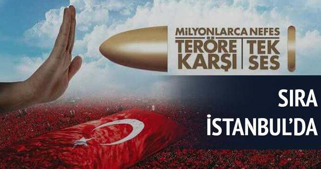 Sıra İstanbul'da