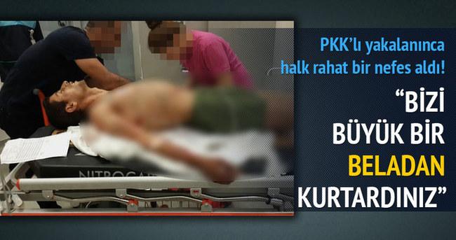 PKK'nın roketçisi yaralı olarak yakalandı!