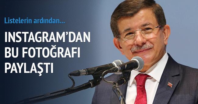 Başbakan Ahmet Davutoğlu Instagram'dan bu fotoğrafı paylaştı