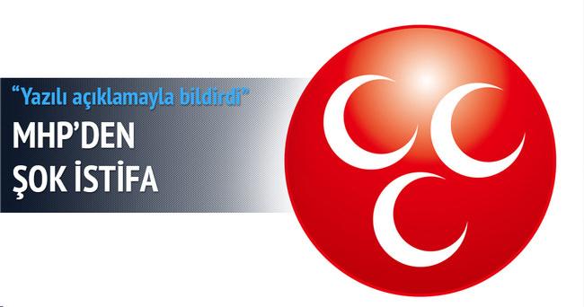 MHP Erzurum İl Başkanı Anatepe istifa etti