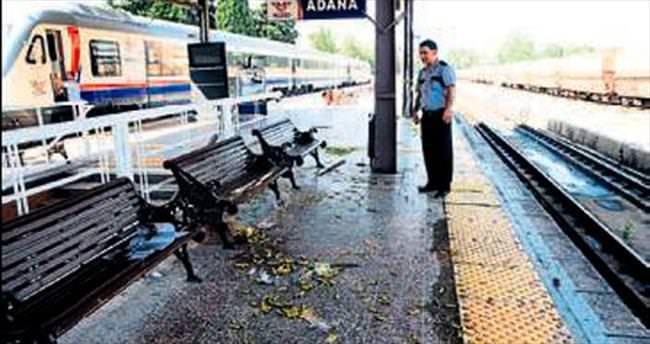 Tren garında bomba alarmı