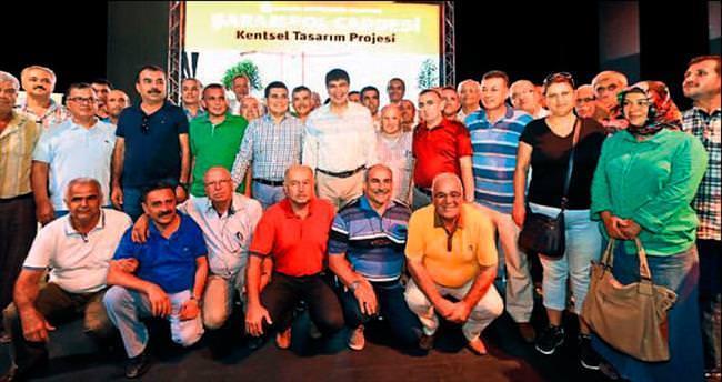 Şarampol projesi anlatıldı