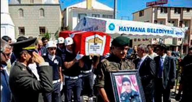Şehit polis Ergül toprağa verildi